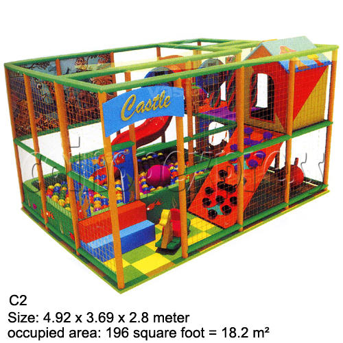 Mini Indoor Playground (339 square feet) 27857