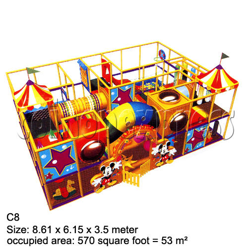 Mini Indoor Playground (339 square feet) 27863