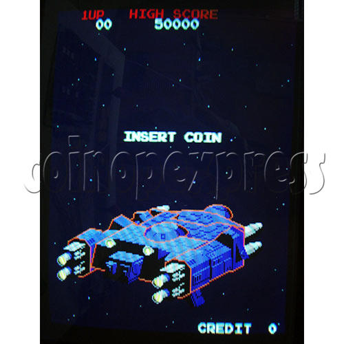 Arkanoid Arcade PCB game play 1
