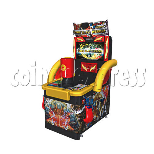 Sonic Blast Heroes Punch Machine 28565