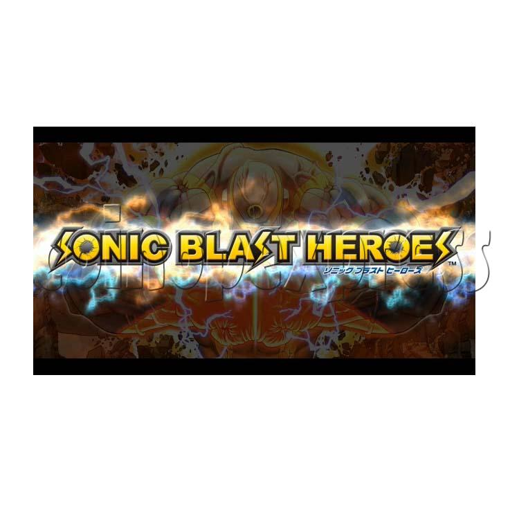 Sonic Blast Heroes Punch Machine 28569