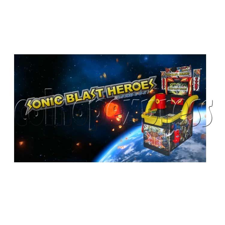 Sonic Blast Heroes Punch Machine 28577