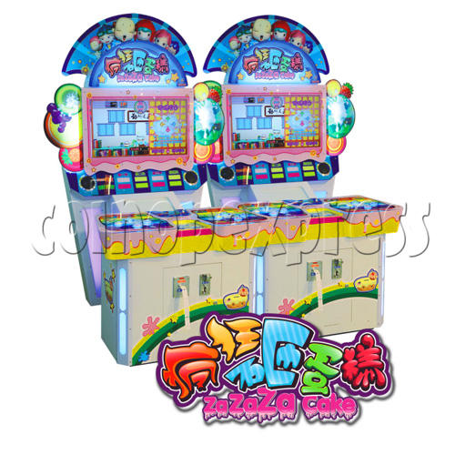 Cake Splash Ticket Machine 28637