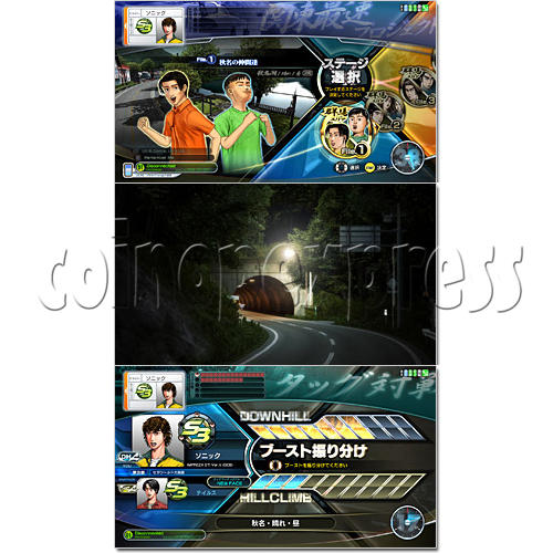 Initial D' Arcade Stage Version 7 AA X 28782