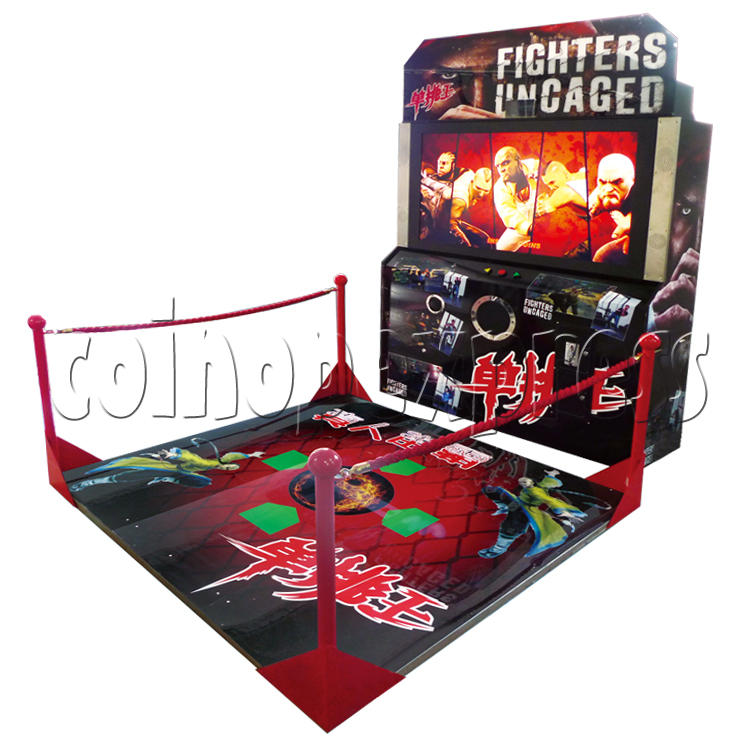 Fighters Uncaged Boxing Game Machine 29653