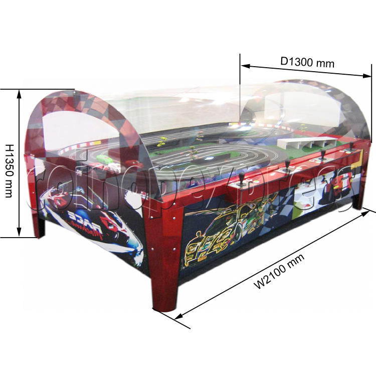 Table Slot Car Racing DX ( 4 players)  31722