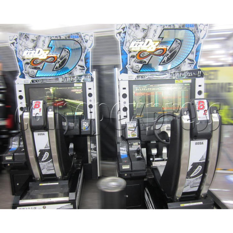 Initial D' Arcade Stage Version 8 Infinity (2 Players With