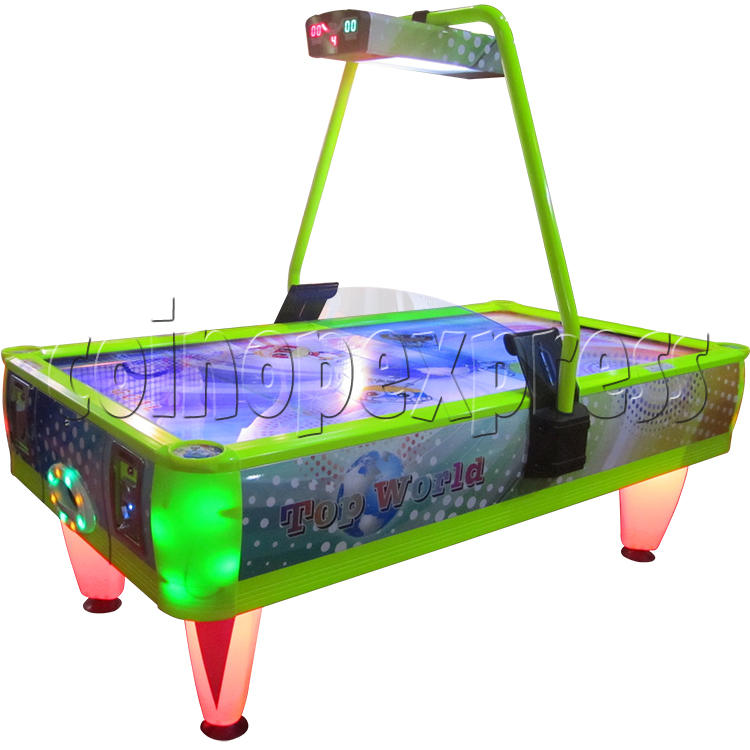 Top World Coin Operated Air Hockey ( 4 players) 33658