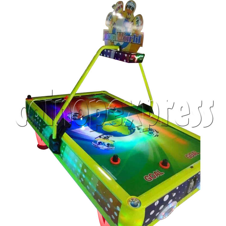 Top World Coin Operated Air Hockey ( 4 players) 34606