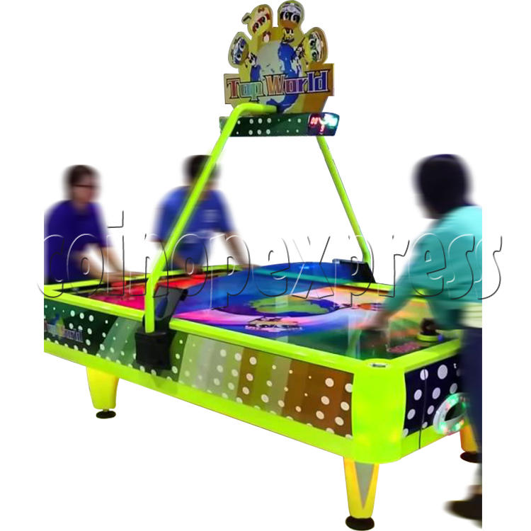Top World Coin Operated Air Hockey ( 4 players) 34607