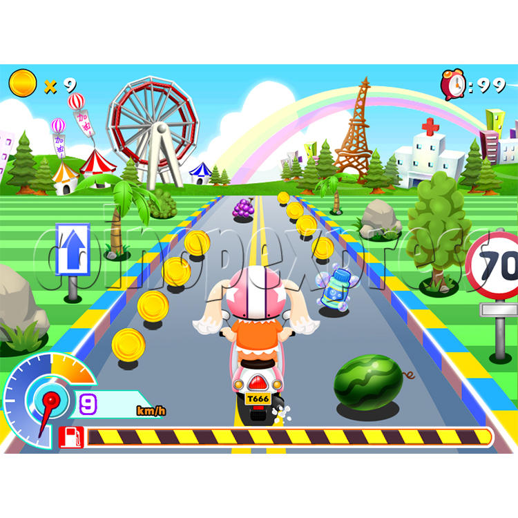 Video Baby Racing Kiddie Ride 33664