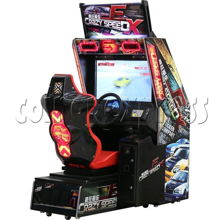 Crazy Speed EX Arcade Machine  33737