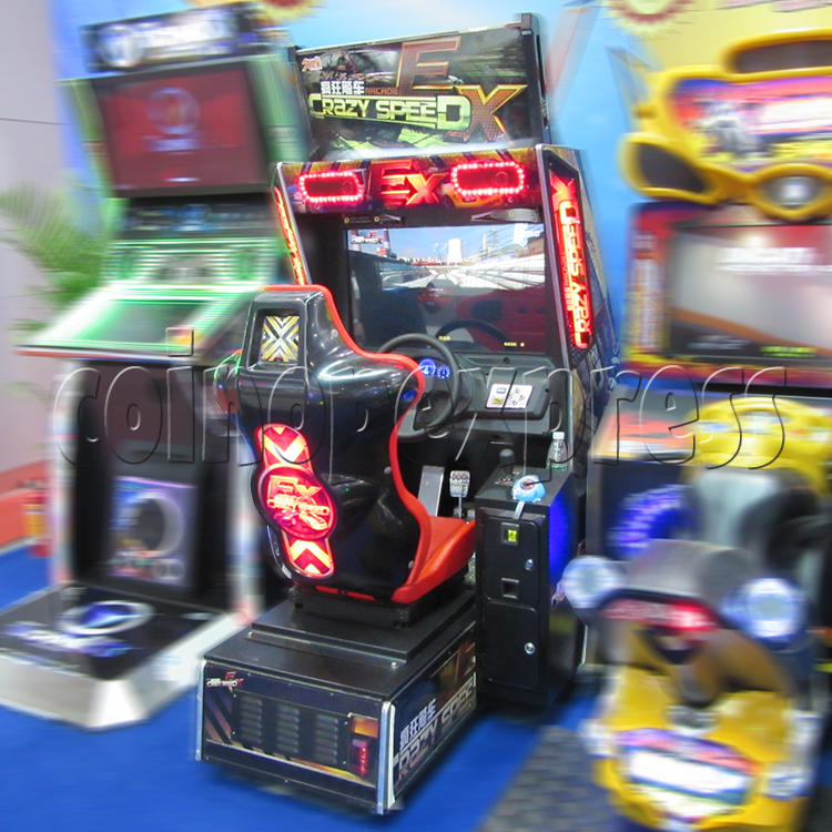 Crazy Speed EX Arcade Machine  33742