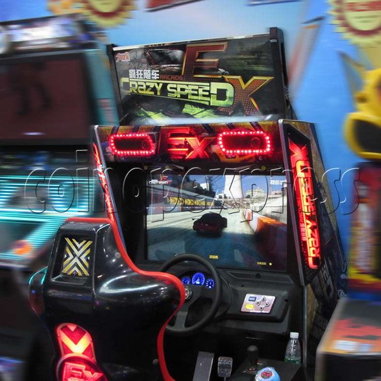 Crazy Speed EX Arcade Machine  33744