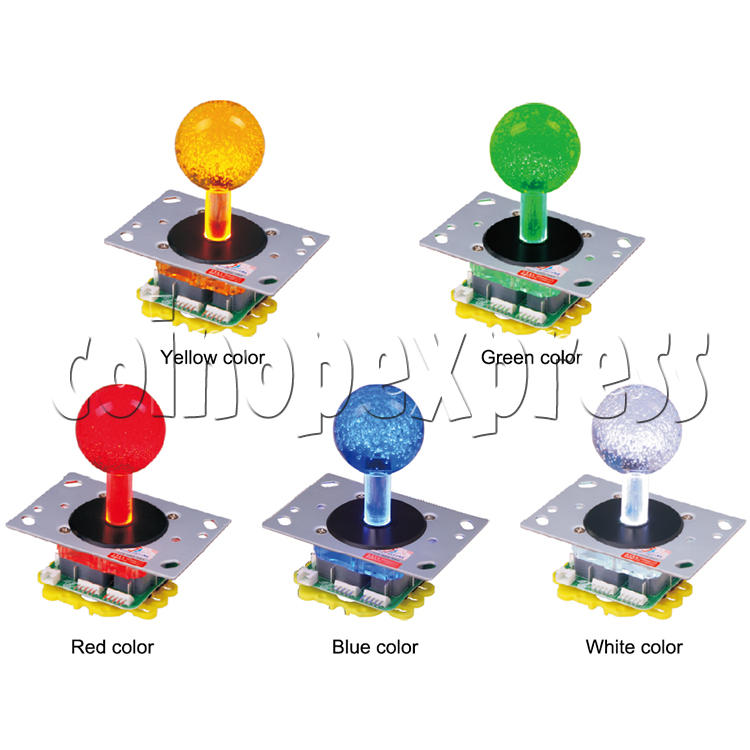 12V Illuminated Joystick for Fishing Game Machine 34540