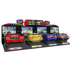 OutRun 2 Special Tours SDX - 4 DX linked machines