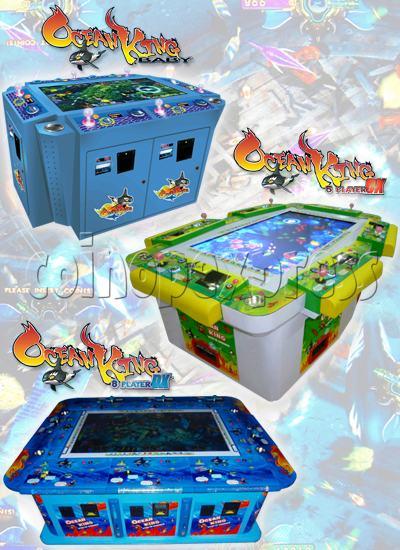 Ocean king fish hunter games for sale arcade video game for Ocean king fish game