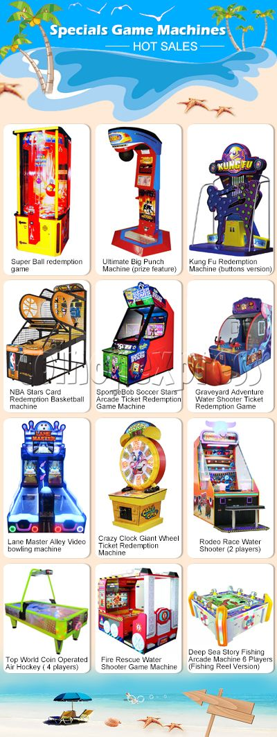 Brand Machine Clearances- Bulk Arcade Game Special Sale!