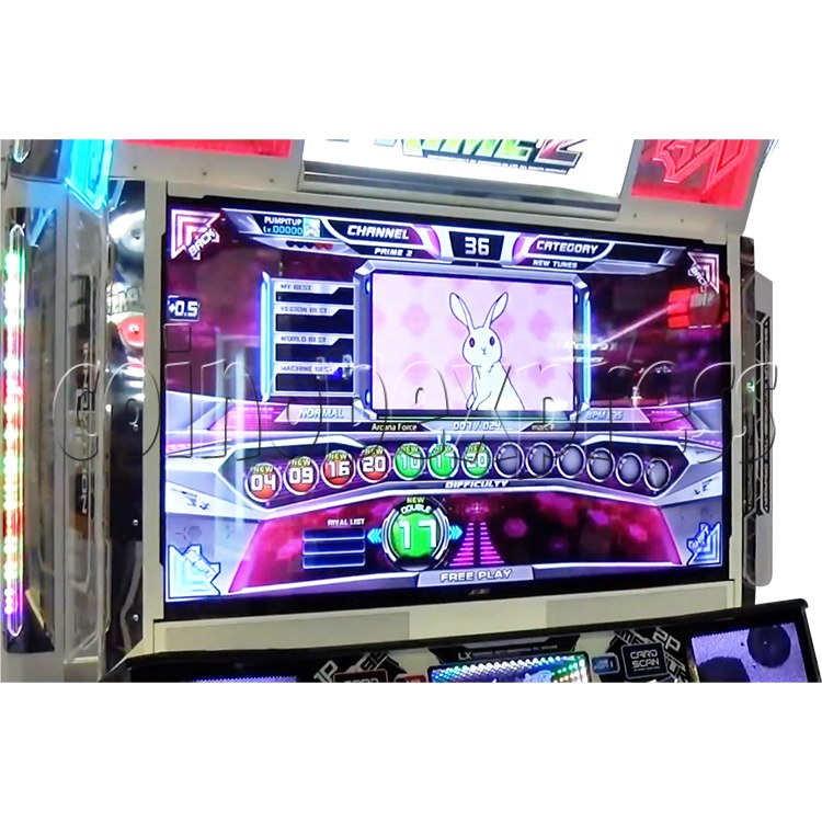 Pump It Up Prime 2 2017 Dance Machine ( LX 55 inch LCD screen) 34897