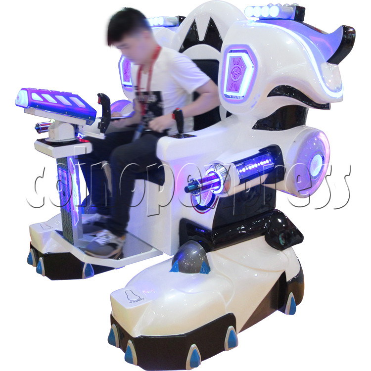 Walking Robocop Electric Rides 34923