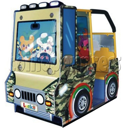 BoBo Jeep Video Kiddie Ride (2 players) 34959