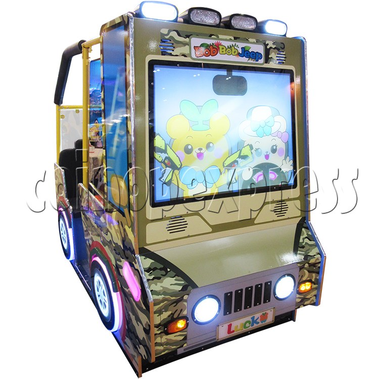 BoBo Jeep Video Kiddie Ride (2 players) 34960