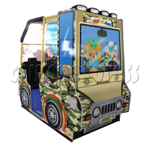 BoBo Jeep Video Kiddie Ride (2 players) 34961