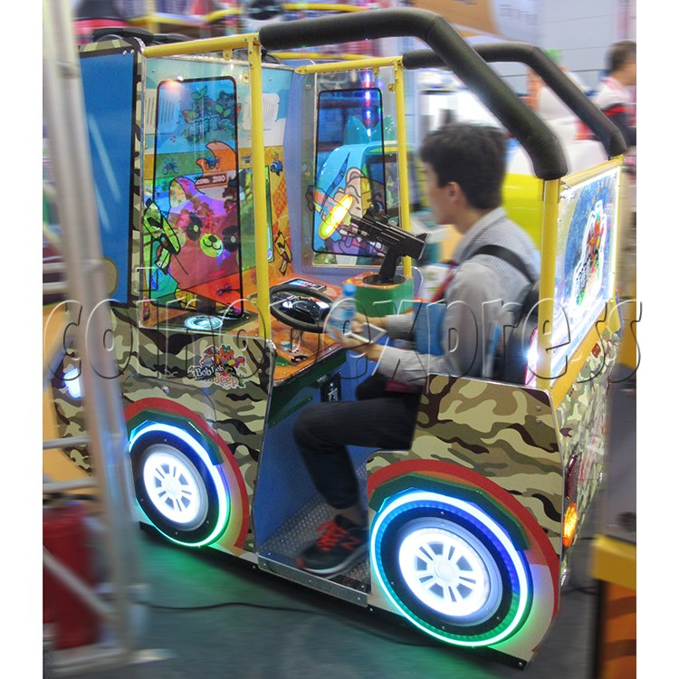 BoBo Jeep Video Kiddie Ride (2 players) 34962