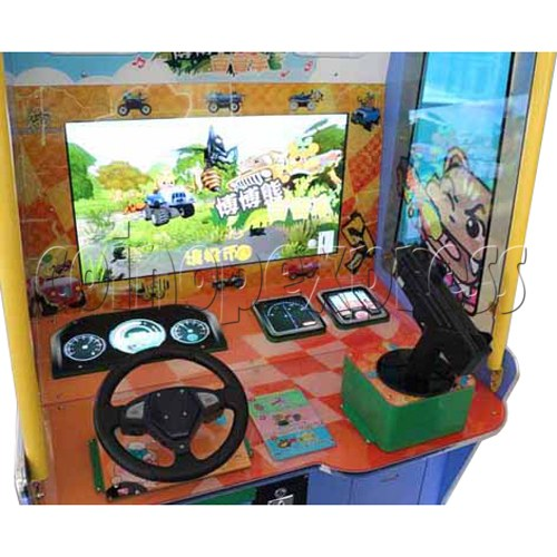 BoBo Jeep Video Kiddie Ride (2 players) 34963