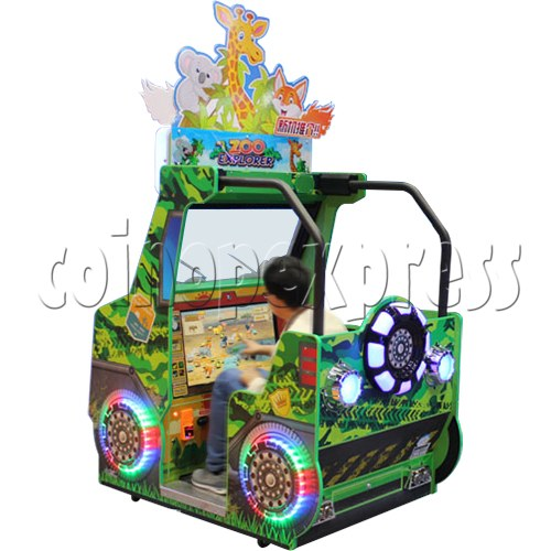 Zoo Explorer Jungle Theme Touch screen Redemption Game Machine 35319