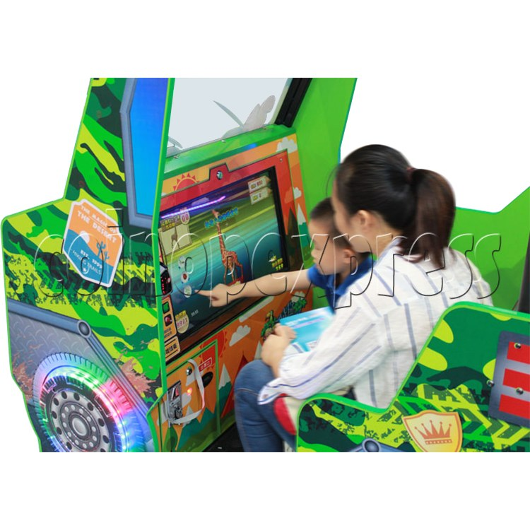 Zoo Explorer Jungle Theme Touch screen Redemption Game Machine 35320