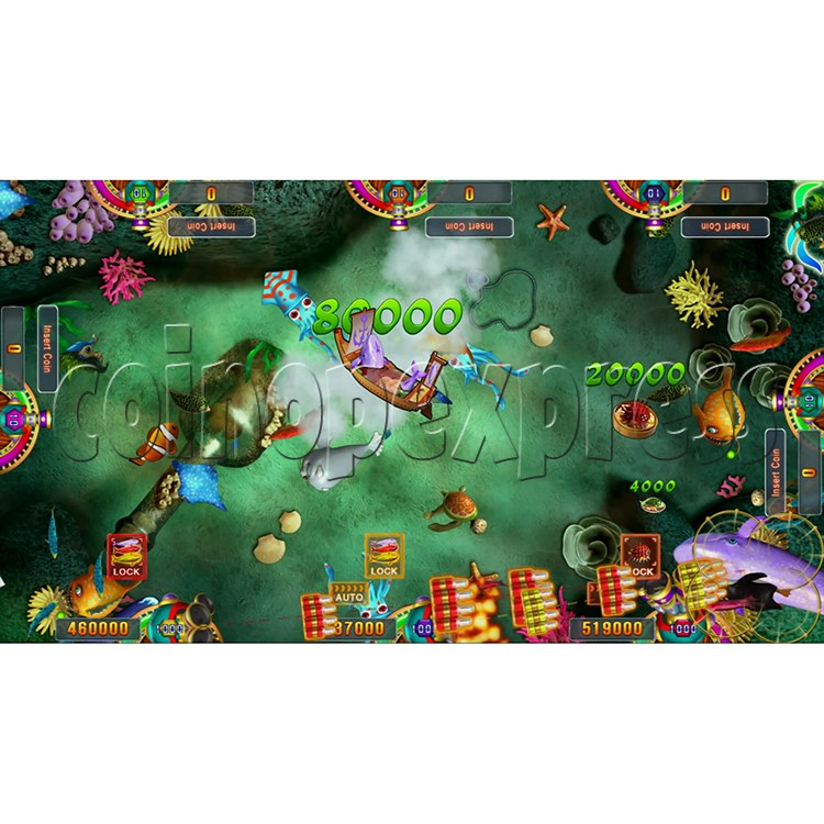 Seafood Paradise 3 USA Edition Fishing Game Full Game Board Kit - screen display -3