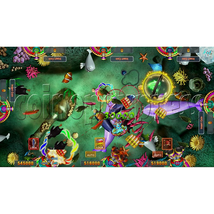 Seafood Paradise 3 USA Edition Fishing Game Full Game Board Kit - screen display - 4
