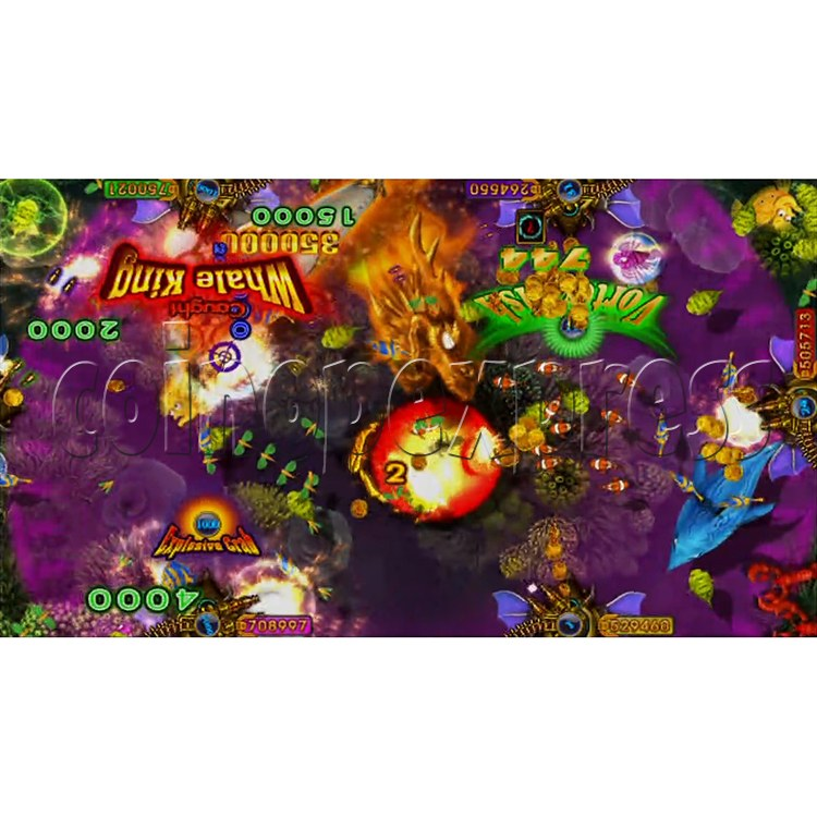 King of Treasures Plus Fish Hunter Game Full Game Board Kit China Release Version - game play-10