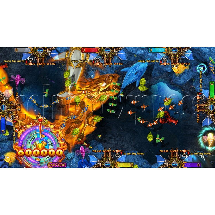 King of Treasures Plus Fish Hunter Game Full Game Board Kit China Release Version - game play-11