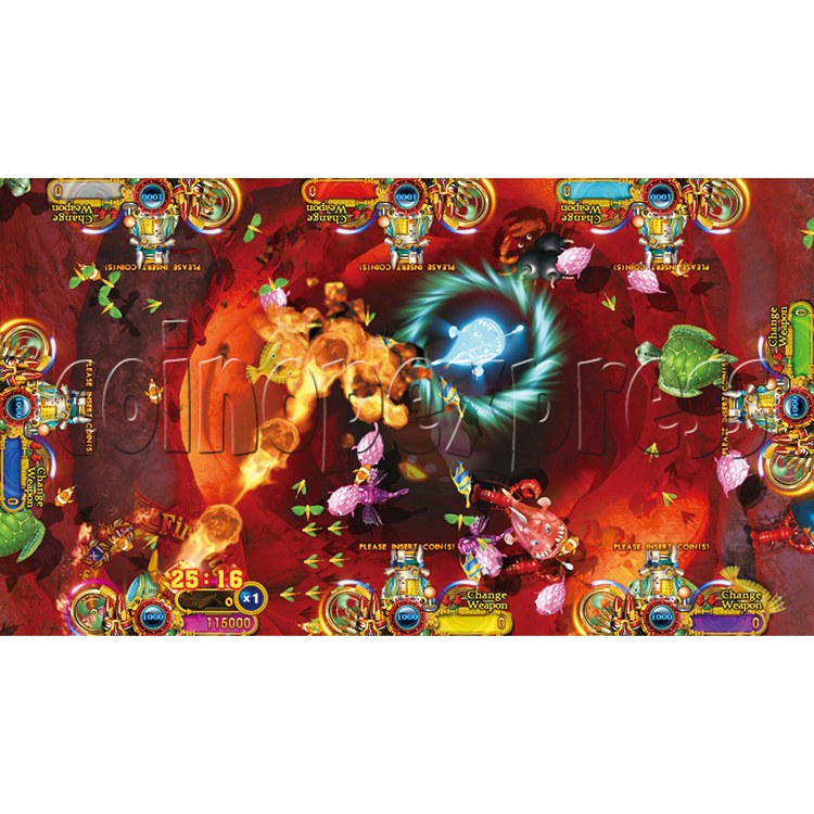 Ocean King 2 Thunder Dragon Video Redemption Fish Hunter Full Game Board Kit China Release Version - game play-5