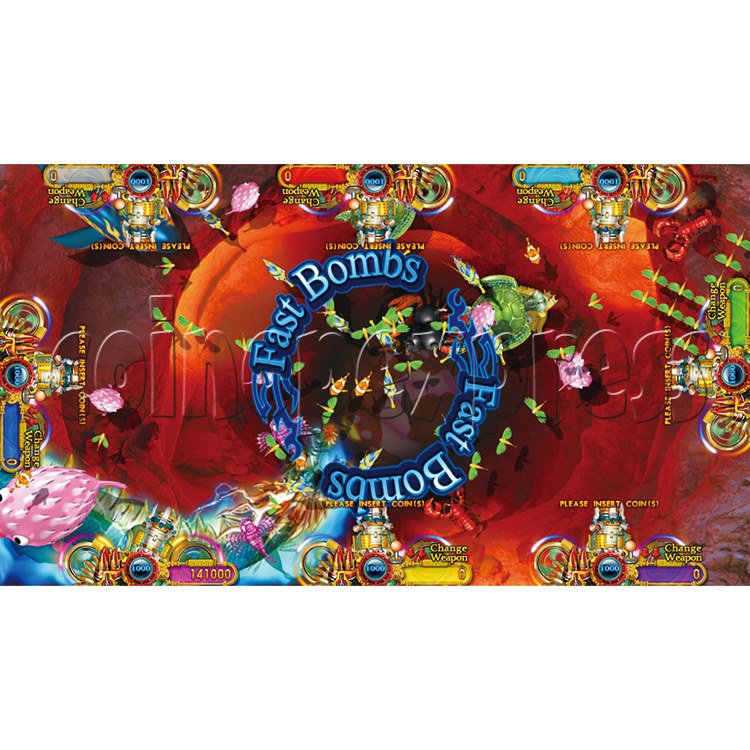 Ocean King 2 Thunder Dragon Video Redemption Fish Hunter Full Game Board Kit China Release Version - game play-8