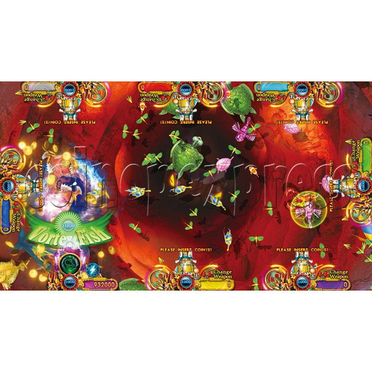 Ocean King 2 Thunder Dragon Video Redemption Fish Hunter Full Game Board Kit China Release Version - game play-9