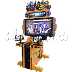 Transformers: Human Alliance Upright Arcade Shooting Game (with 55 inch LCD screen)