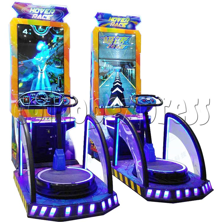 Hover Race Skiing Sport Game 35852