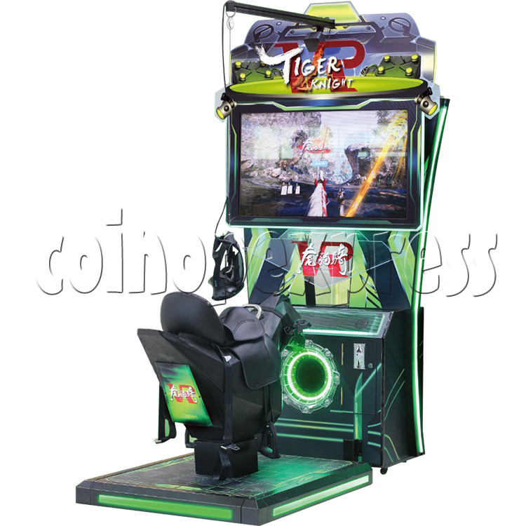 Tiger Knight VR Coin Operated Horse Racing Simulator Game machine 36058