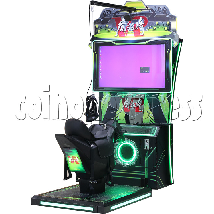 Tiger Knight VR Coin Operated Horse Racing Simulator Game machine 36060