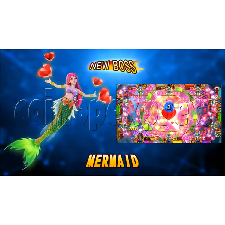 Ocean King 3 Plus Mermaid Legends Fish Game Board Kit China Release Version - screen display-5