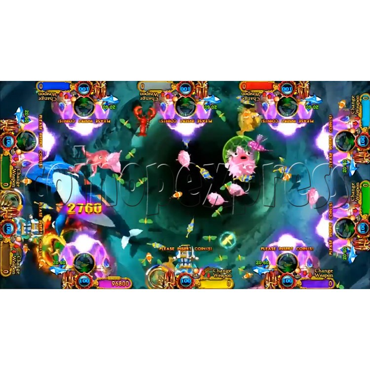 Ocean King 3 Plus Mermaid Legends Fish Game Board Kit China Release Version - screen display-6