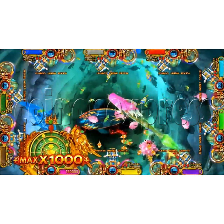 Ocean King 3 Plus Mermaid Legends Fish Game Board Kit China Release Version - screen display-8