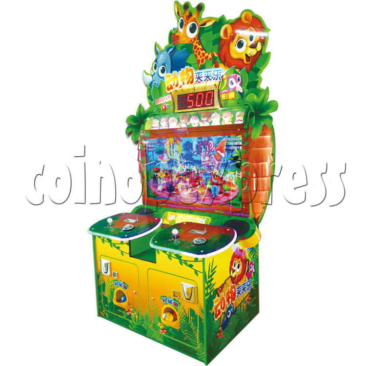 Animals Castle Virtual Prize Grabbing a Win Machine  36456