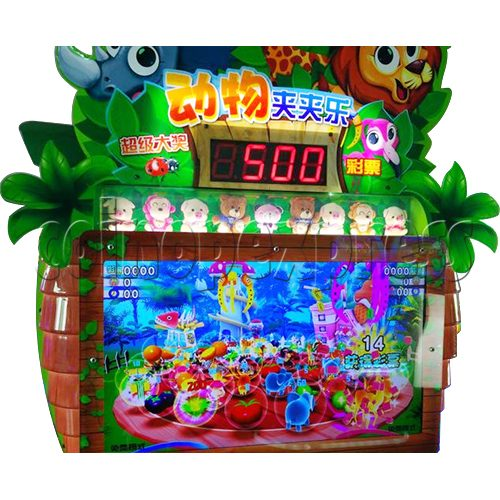 Animals Castle Virtual Prize Grabbing a Win Machine  36462