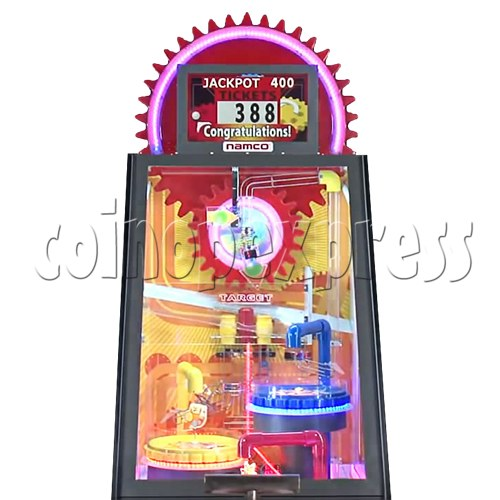 Triple Turn Ball Game Skill Test Redemption Machine 36785