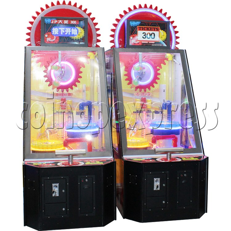 Triple Turn Ball Game Skill Test Redemption Machine 36786