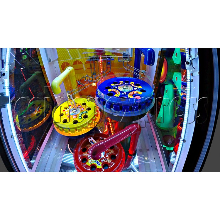 Triple Turn Ball Game Skill Test Redemption Machine 36796